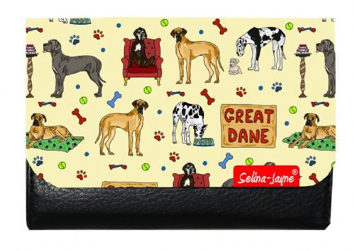 Selina-Jayne Great Dane Dog Limited Edition Designer Small Purse